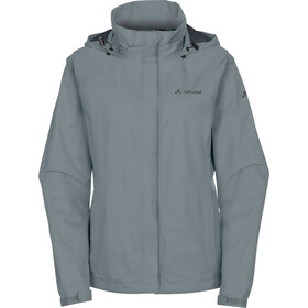 VAUDE Escape Bike Light Jacket Damen pewter grey